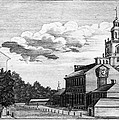 Independence Hall, 1778 by Granger