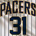 Indiana Pacers Uniform by Joe Hamilton