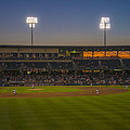 Indianapolis Indians Victory Field Sunset 4694 by David Haskett II