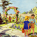 Infant School Illustrations 1950s Uk by The Advertising Archives