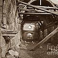 Interior Of Old Mission Church At Carmel Mission California  Circa 1880 by California Views Archives Mr Pat Hathaway Archives