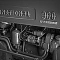 International 300 Utility Harvester by Susan Candelario