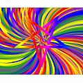 Inverted Rainbow Spiral by Frederick Holiday