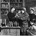 Ireland: Vaccination, 1880 by Granger