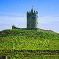 Irish Castle On Hill by Birgit Tyrrell