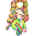 Isaac Newton by Gary Brown/science Photo Library