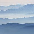 Italian Alps In The Mist by Matteo Colombo
