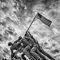 Iwo Jima Memorial by Susan Candelario