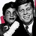 Jackie And Jack Kennedy In A Photo Booth Snap No Known Location 1953-2013 by David Lee Guss