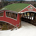 Jackson Cross Country Skiing Bridge by Paul Mangold