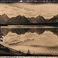 Jackson Lake Wyoming by Bonfire Photography
