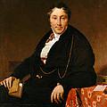 Jacques-louis Leblanc by Jean Auguste Dominique Ingres