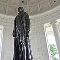 Jefferson Memorial # 6 by Allen Beatty