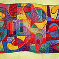 Jigsaw Tapestry by Diane Fine