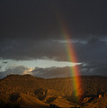 Jim Mountain Rainbow by J L Woody Wooden