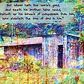 1 John 3 17 by Michelle Greene Wheeler