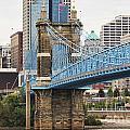 John Roebling Bridge 1867 by Jack Schultz