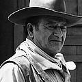 John Wayne Rio Lobo Old Tucson Arizona 1970 by David Lee Guss