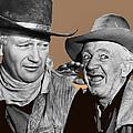 John Wayne Walter Brennan Publicity Photo Red River 1948-2013 by David Lee Guss