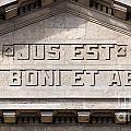 Jus Est Ars Boni Et Aequi by Jannis Werner