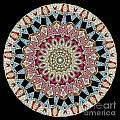 Kaleidoscope Colorful Jeweled Rhinestones by Amy Cicconi