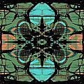 Kaleidoscope Flower 4 by Steve Ball
