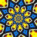Kaleidoscope Of Primary Colors by Amy Cicconi