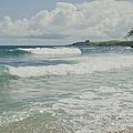 Kapalua Surf Honokahua Maui Hawaii by Sharon Mau
