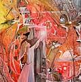 Kassiah And The Gazing Ball by Jackie Mueller-Jones
