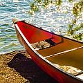 Kayak By The Water by Alex Grichenko