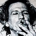 Keith Richards by Davide Farina