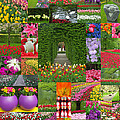 Keukenhof Gardens Collage by Mike Nellums