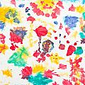 Kid's Artwork Colorful Background by Aleksandar Mijatovic