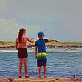Kids Exploring by Helen  Bobis