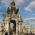 Kronentor Zwinger Dresden  by Christiane Schulze Art And Photography