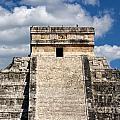 Kukulkan Pyramid At Chichen Itza by Jannis Werner