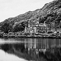 Kylemore Abbey Reflected In The Lake Connemara Galway Ireland by Joe Fox