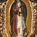 La Virgen De Guadalupe by Manuel de Arellano