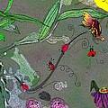 Ladybug Slide by Karen Beasley
