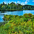 Lake Abanakee In The Adirondacks by David Patterson