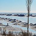 Lake Michigan Ice by Linda Kerkau