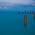 Lake Michigan Pylons by Anthony Doudt