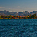 Lake Placid And The Adirondack Mountain Range by Brenda Jacobs