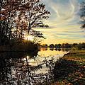 Lake Wausau Sunset by Dale Kauzlaric