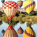 Landing On The Yakima River by Carol Groenen