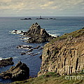 Seascape Lands End by Linsey Williams