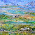 Landscape After Rassuman by Regina Valluzzi