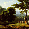 Landscape by Jean-Victor Bertin