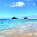 Lanikai Beach Oahu Hawaii by Kelly Wade