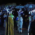 Lantern Parade In Patterson Park by Doug Swanson